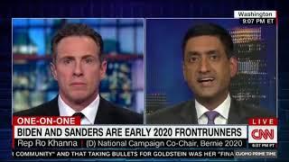 Ro Khanna Runs Circles Around CNN On Bernie's Legacy & Medicare For All