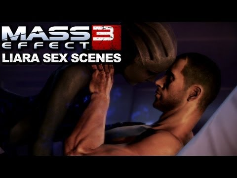 Mass Effect Sex Scene Liara 17