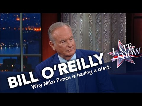 Bill O'Reilly On Mike Pence: Defending Trump Is Not Easy