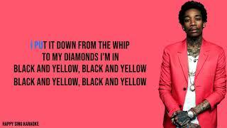 BLACK AND YELLOW - WIZ KHALIFA (Karaoke Version)
