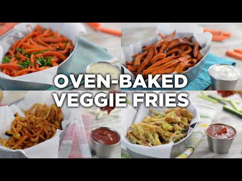 Add More Veggies to Your Diet With These Healthy Oven-Baked Fries, 4 Ways