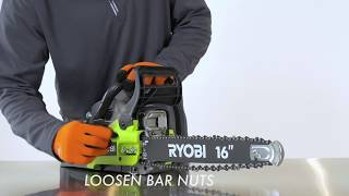"Video: 2 Cycle 20"" Chain Saw"