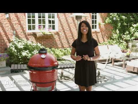 Kamado Joe Red Ceramic Grills - Overview