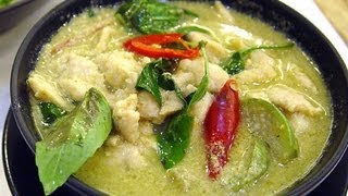 Chicken in Thai Green Curry