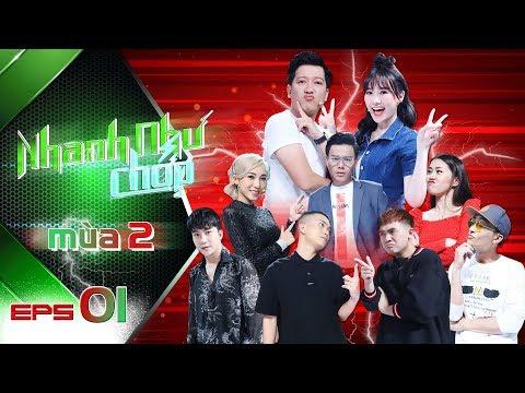 Nhanh Như Chớp Mùa 2 | Tập 01 Full HD: Trường Giang-Hari Won Đụng Phải Cặp Đôi Mượn Rượu Tỏ Tình