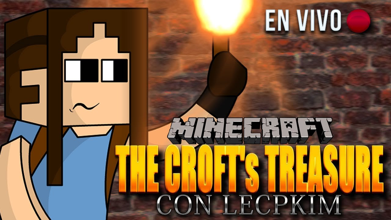 Minecraft   The Croft´s Treasure En VIVO!! Estrenando :D - Smashpipe Games Video