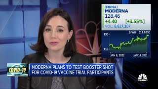 Moderna plans to test booster shot for Covid-19 vaccine trial patients