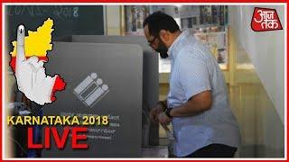 Karnataka Elections Live: Voting Begins For 222 Seats In Karnataka #AajTak Maha Coverage