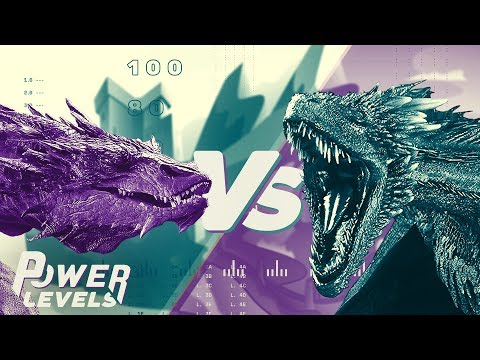 Game of Thrones vs The Hobbit | Dragon Power Levels