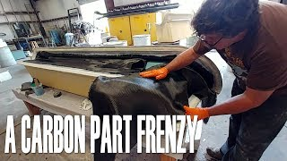 A Carbon Part Frenzy - Building the Raptor Prototype
