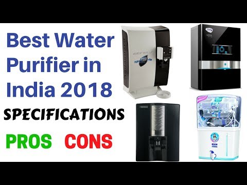 Best Water Purifier in India 2018 (Specifications, Pros and Cons)