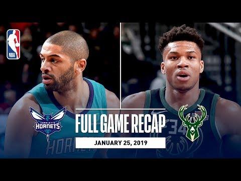 Full Game Recap: Hornets vs Bucks | Giannis Antetokounmpo Goes For 34 Points