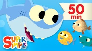 10 Little Fishies | + More Kids Songs | Super Simple Songs