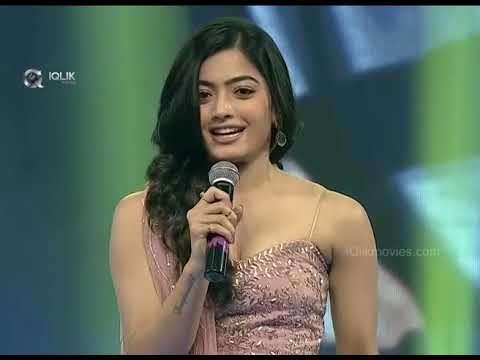 Rashmika-Telugu-Speech---Geeta-Govindam-Audio-Launch