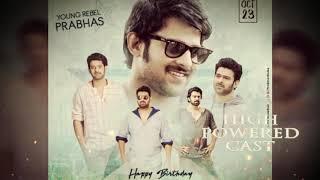 Prabhas Happy birthday a video