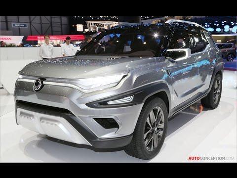 Car Design: 2017 SsangYong XAVL Concept