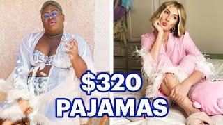 $100 Vs. $320 Luxury Pajamas