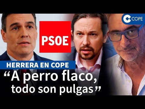Herrera lanza una advertencia a Sánchez y el futuro del PSOE: «Le puede pasar lo mismo»