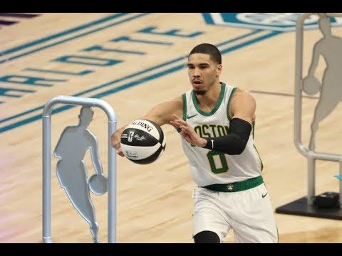Jayson Tatum's Full Skills Competition Performance   2019 NBA All-Star