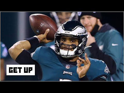 Expectations for Jalen Hurts being the Eagles' starting QB during the 2021 NFL season | Get Up