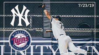 New York Yankees @ Minnesota Twins | Game Highlights | 7/23/19