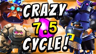 7.5 ELIXIR! MOST EXPENSIVE DECK in CLASH ROYALE!