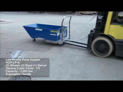 Low Profile Parts Hopper HOP-LP-N Application Video