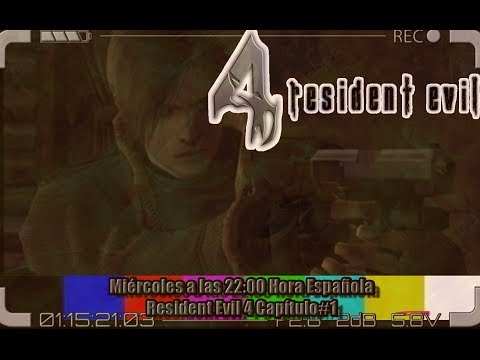 ➡ Resident Evil 4 En Directo Parte#1⬅