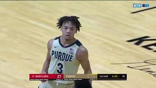 First Half Highlights: Maryland at Purdue | Big Ten Basketball