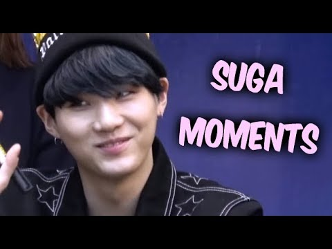 BTS Suga Cute and Funny Moments