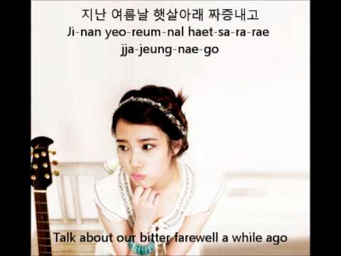IU - Raindrop [On_Screen_Lyrics]