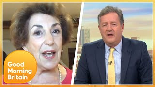 Edwina Currie Interrupts Piers In Fiery Discussion Over New Covid Measures | Good Morning Britain