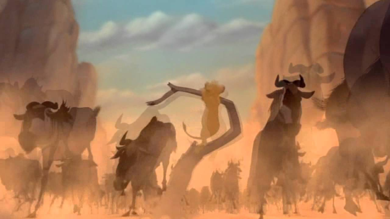Escape The Wildebeest The Lion King Musical Version