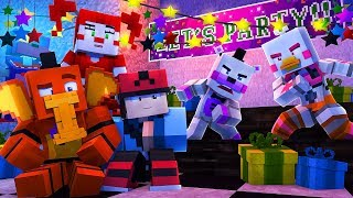 Minecraft FNAF 6 Pizzeria Simulator - FUNTIME CHICA VS HELPY!  (Minecraft Roleplay)
