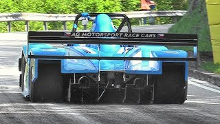 Best Hillclimb Starts at Verzegnis 2017!! – Hillclimb Monsters, Formula Cars, Prototypes  More!!