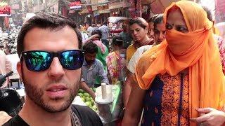 Travel India - Old Delhi Market Walk Around