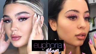 EUPHORIA MADDY MAKEUP TUTORIAL! madi bernard