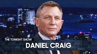 Daniel Craig Got Emotional After Shooting His Final Scene as James Bond | The Tonight Show