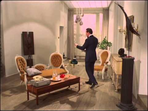 Video of Steed playing the piano while Emma prepares to 'have dinner on Venus', she tells him his Claret doesn't travel well