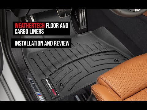 WeatherTech FloorLiners and Cargo Liners - Unboxing, installation, cleaning and review