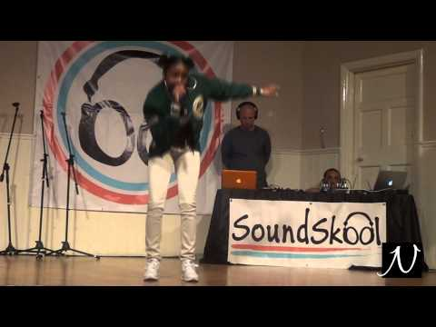 Nadia Rose's performance at Soundskool