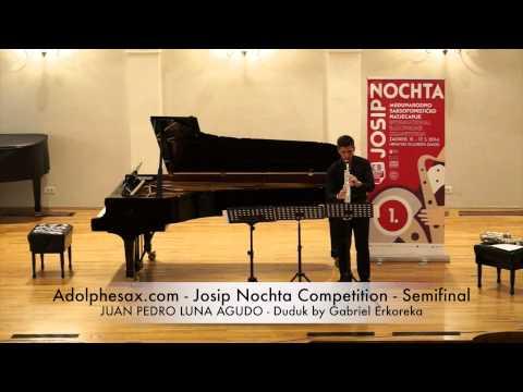 Adolphesax com Josip Nochta JUAN PEDRO LUNA AGUDO Duduk by Gabriel Erkoreka