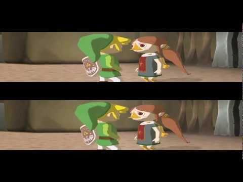 YT3D - Zelda : the Wind Waker - 3D.HD720p (dolphin + iz3d driver)