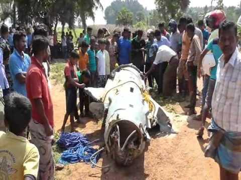 Unidentified Airplane Part Washes Ashore At Kalawanchikudi