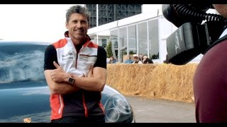 Patrick Dempsey completes the new Panamera's development journey