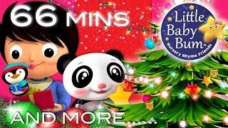 Christmas Songs | Jingle Bells Compilation part 2 | Plus More Children's Songs | LittleBabyBum!