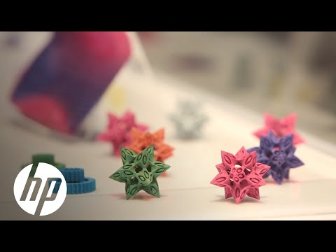 HP 3D materials: Explore the Jet Fusion 3D printing applications at RAPID 2016
