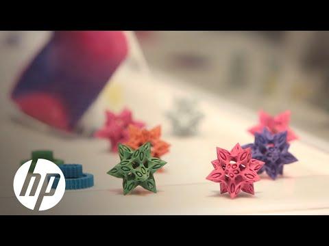 HP 3D materials: Explore the Jet Fusion 3D printing applications at RAPID 2016