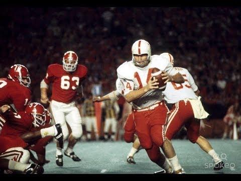 1972 Orange Bowl   #1 Nebraska (12-0) vs #2 Alabama (11-0)