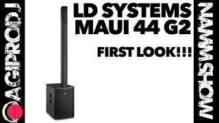 LD SYSTEMS MAUI 44 G2 in action